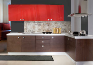 Modern Mini Real Wood Home Bar pictures & photos