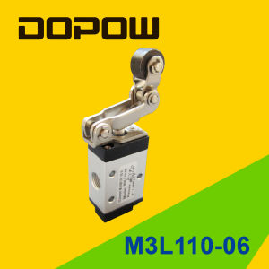 M3pm210-08 M3 Series Mushroom Manual Valve 2 Position 3 Way pictures & photos