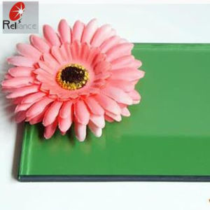 Decorative Colorful Green Painted Glass/Baking Glass pictures & photos