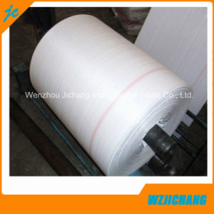 PP Woven Tubular Fabric Cloth in Roll White Black Yellow Blue pictures & photos