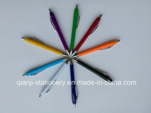 Multi-Color Imprinting Plastic Ball Pen (P1056) pictures & photos
