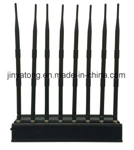 Lojack/ WiFi/ VHF/ UHF Mobile Phone Jammer 8 Bands 60 Meters pictures & photos