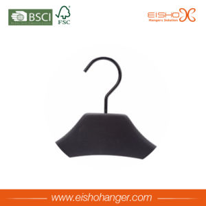 Good Quality Black Color Wooden Coat Hanger pictures & photos