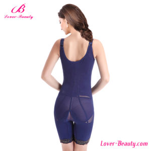 Charming Lace Blue Full Body Shapewear and Butt Lifter pictures & photos
