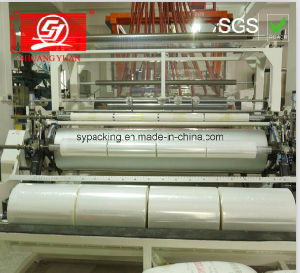 40-60kg Crystal Film Roll LLDPE Jumbo Roll for Hand and Machine Use pictures & photos