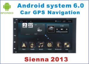 New Ui Android 6.0 Car Navigation for Toyota Sienna with Car DVD Player