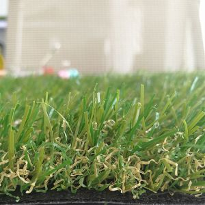Four Colours 25mm Aquarium Artificial Grass for Landcaping Garden From China