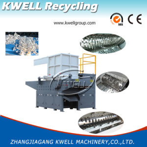 Single Shaft Shredding System/Plastic Recycling Shredder pictures & photos