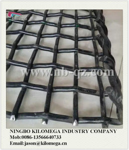 Good Quality Wire Screen+Hook / Mining Screen Mesh /Crimped Wire Mesh pictures & photos
