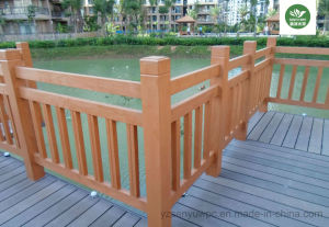 No Maintenance WPC Outdoor Fencing pictures & photos