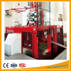 China Supplier Construction Passenger and Material Elevator Hoist pictures & photos