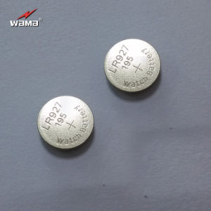 Best Quality AG7 Alkaline Button Cell Battery pictures & photos