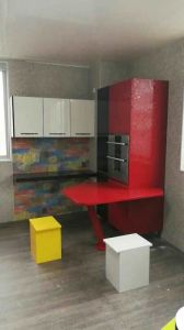 MDF High Gloss Kitchen Cabinets pictures & photos