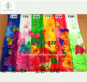 2017 New Arrival Chiffon Printed Lady Fashion Scarf Factory pictures & photos