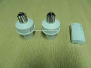 E27 433MHz RF Remote Control Lamp Holder pictures & photos