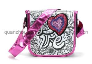 DIY Nylon Girls Student Shoulder Graffiti Doodle Bag for Promotion pictures & photos