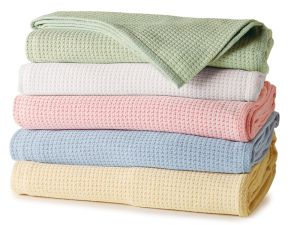 Natural Cotton Softness Baby Blankets with Solid Color (DPF10752) pictures & photos