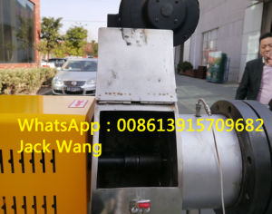 PVC Hot Cutting Plastic Granulation Machine with CE pictures & photos