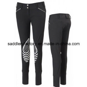 Fashion New Silicone Horse Riding Pants Breeches for Lady (SMB4005) pictures & photos