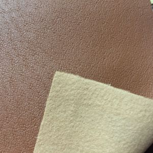 Breathable Shoes Lining Leather Fabric PU Material for Shoes Lining pictures & photos