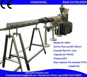 Hx-160W Horizontal RAM Extrusion Machine for PTFE Rod pictures & photos