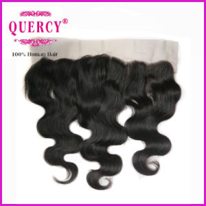 "Grade 8A 100% Brazilian Frontals 8′ ′ to 24""′ Ear to Ear 13X4 Swiss Lace Closure Frontal (FW- 69B) pictures & photos"