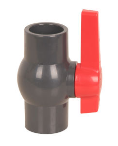 Black PVC Ball Valves T*T for Water Supply pictures & photos