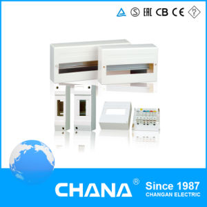 Ce 3row Household Electrical Modular 6 18way Distribution Box pictures & photos