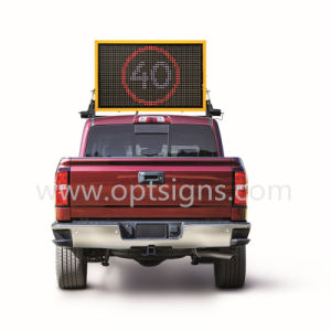 Road Vehicle Changeable LED Message Sign Display Roof Mounted Vms Board pictures & photos