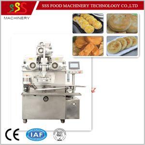 Pie Pancake Mooncake Stuffing Encrusting Machine pictures & photos
