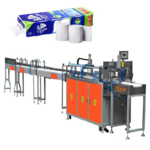 Auto Counting Toilet Paper Bundling Machine pictures & photos