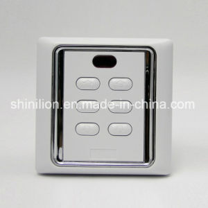 Roller Shutter Remote Control Wall Switch with Remote Function pictures & photos
