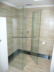 Tempered Glass Shower Door with Ce, ISO9001, CCC pictures & photos
