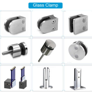 Glass Clipper for Railing System/ Stainless Steel Glass Holder pictures & photos