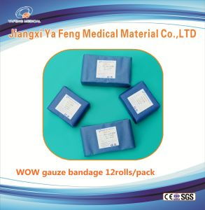 100% Cotton Filled Absorbent Gauze Bandage pictures & photos