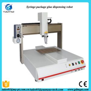 High Quality Syringe Package Automatic Desktop Glue Dispenser Machine pictures & photos