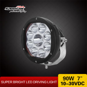90W Spot Beam High Power Long Lifespan LED Driving Light pictures & photos