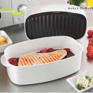 Grill Pan for Microwave Cooking pictures & photos