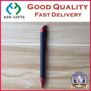 Customized Click Cap Black Plastic Advertising Pens pictures & photos