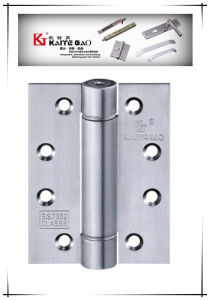Satin Finish Stainless Steel Single Spring Hinge (3043) pictures & photos