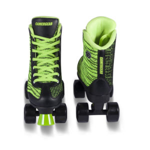 Soft Boot Quad Roller Skate for Adults (QS-42-1) pictures & photos