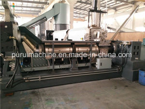 Waste Agricultural Film Recycling Granulator with Double Screw pictures & photos