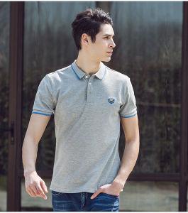 100%Cotton Mens Polo Shirt with Custom Logo pictures & photos