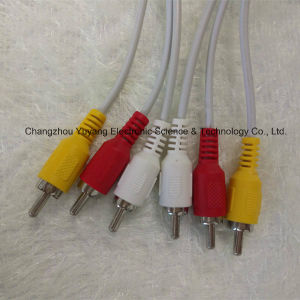 3RCA to 3RCA Audio/Video Cable pictures & photos