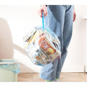 PE 13 Gallon Trash Bag Embossed Disposable Garbage Bag pictures & photos