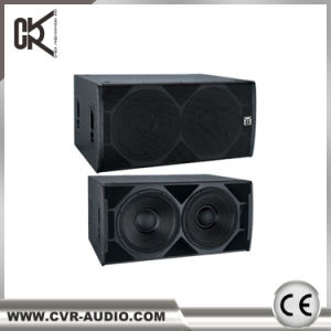 Cvr Dual 18 Inch Night Club DJ Sub-Bass Speaker pictures & photos