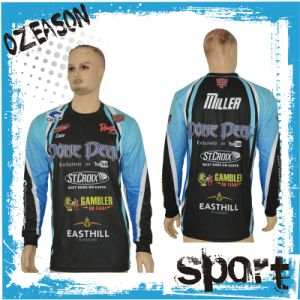 New Model Design Customized Full Sublimated Fishing Jersey (F022) pictures & photos