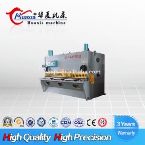 QC11y Heat Treatment Hydraulic Guillotine Shearing Plate Cutting Machine pictures & photos