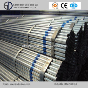 Greenhouse Frame Ms Gi Galvanized Steel Pipe/Round Steel Pipe pictures & photos