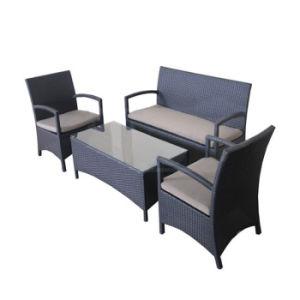 Outdoor Patio Garden Furniture Leisure Rattan Arm Chair Sofa Set pictures & photos